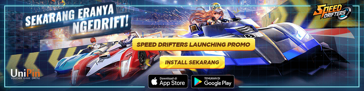 UP - [Promo] Speed Drifters Launching Promo