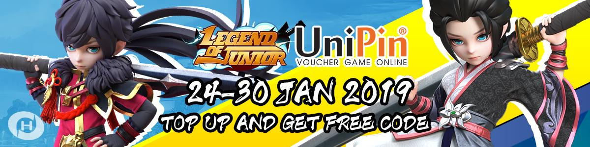 UP - [Event] Top Up and Get Free Code