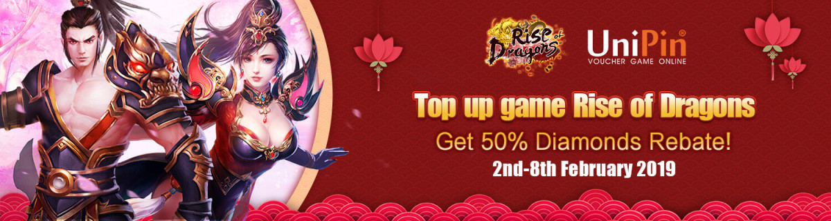 UP - [Event] Rise Of Dragons Spring Festival Event