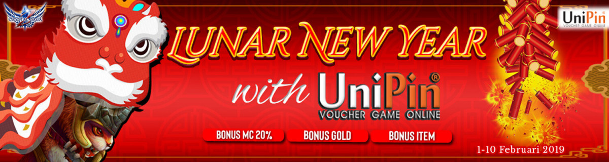UP - [Event] Crystal Saga 2 Special Lunar New Year with UniPin
