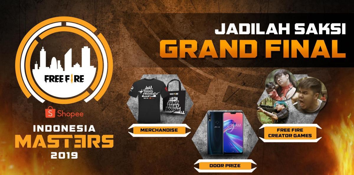 5 Alasan Kenapa Kamu Wajib ke Grand Final Free Fire Shopee Indonesia Masters!
