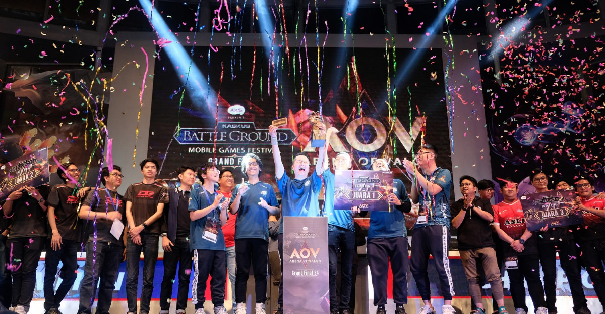 EVOS e-Sports Sabet Gelar Juara KASKUS Battleground: Mobile Games Festival Season 4