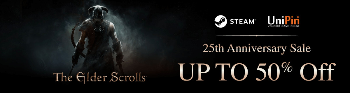 UP - Get up to 50% Discount for The Elder Scrolls