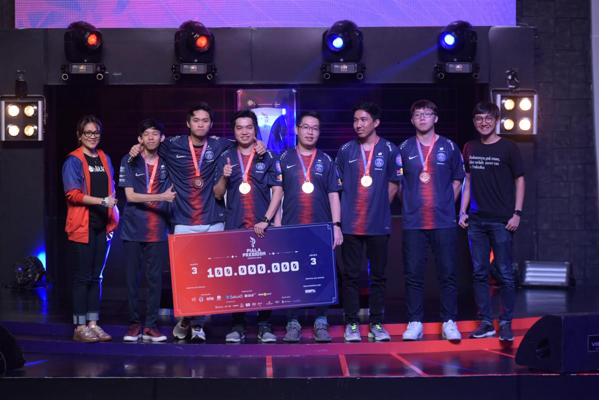 ONIC Esports Menggaet Gelar Juara Pertama Piala Presiden Esports 2019
