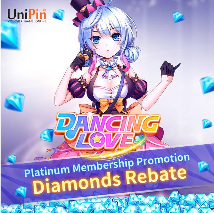 [Promo] Buy Platinum Membership and Get Diamonds Rebate