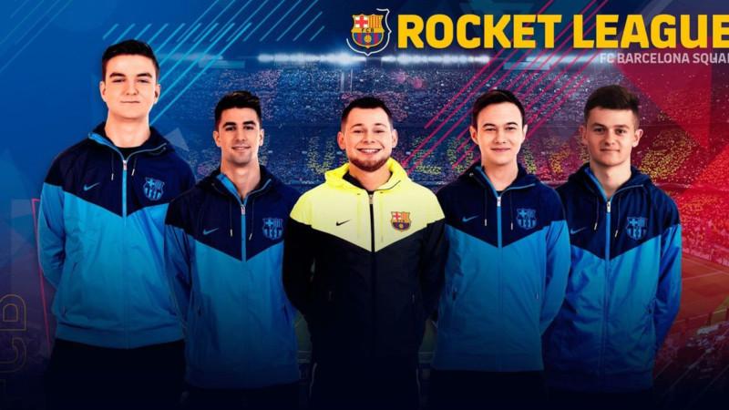 Rocket League Resmi Jadi Divisi Esports Kedua FC Barcelona
