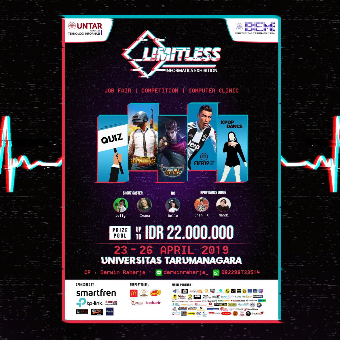BEM FTI UNTAR PROUDLY PRESENTS Informatics Exhibition 2019