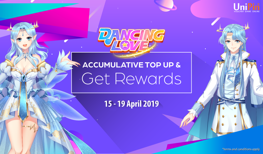 [Promo] Top Up Dancing Love with UniPin and Get Rewards