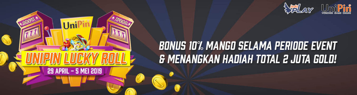 UP - Indoplay - UniPin Lucky Roll