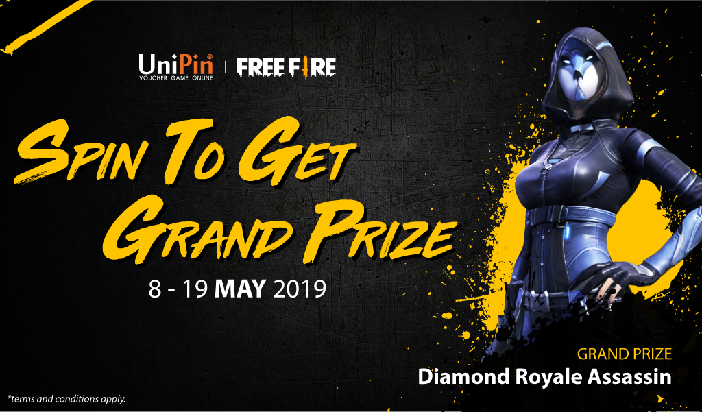 [Promo] Spin To Get Grand Prize - Assassin