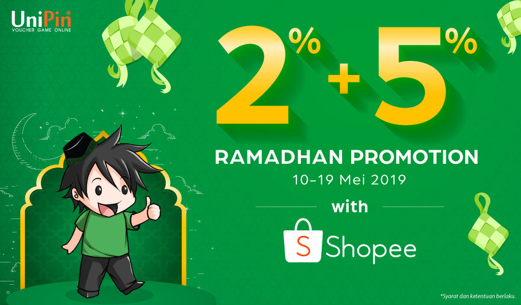[Promo] Combo Discount 2% + 5% With Shopee