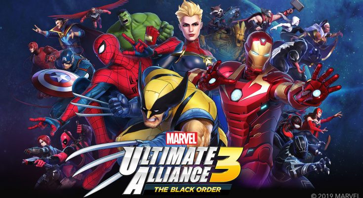 Marvel Ultimate Alliance 3 Tampilkan Spider-Gwen dan Wolverine