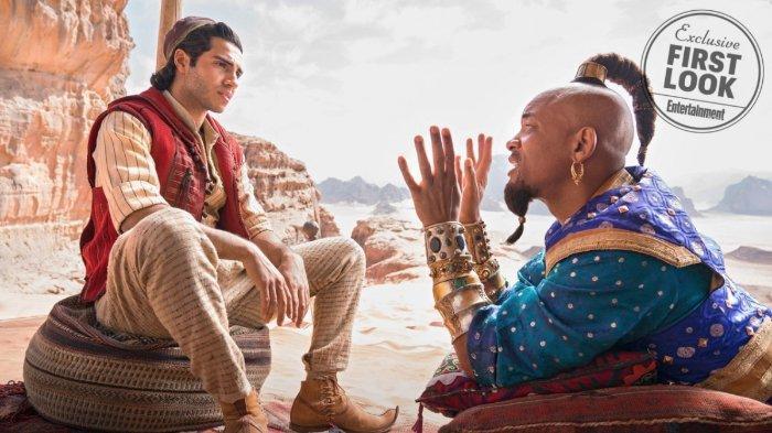 7 Fakta Film Aladdin, Perjuangan Naomi Scott Dapatkan Peran hingga Dinding Gua Berlapis Emas