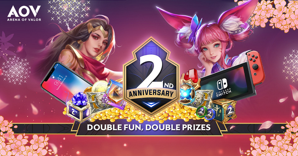 AOV 2nd Anniversary! Double Fun, Double Prize