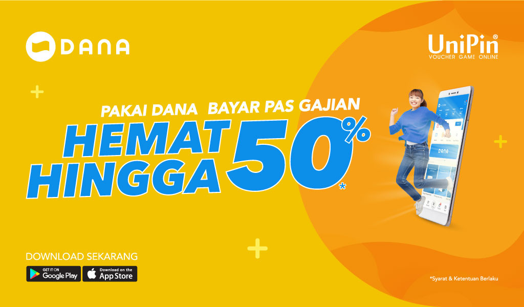Voucher Online Game Payday With DANA, Discount 50%