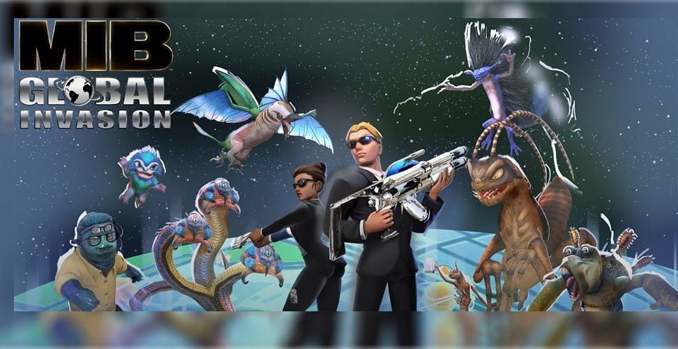 Men in Black Global Invasion: Game Alien Rasa Pokemon