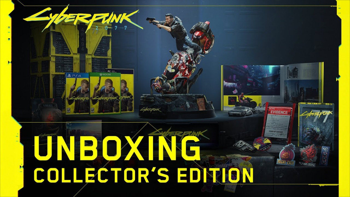 Gokil! Ini Isi Paket Collector's Edition untuk Game Cyberpunk 2077!