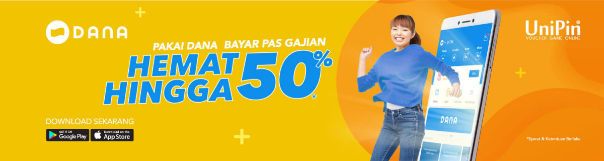 UP - Voucher Online Game Payday With DANA, Discount 50%