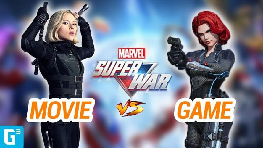 Seberapa Mirip Hero Marvel Super War dengan Tokoh Filmnya?
