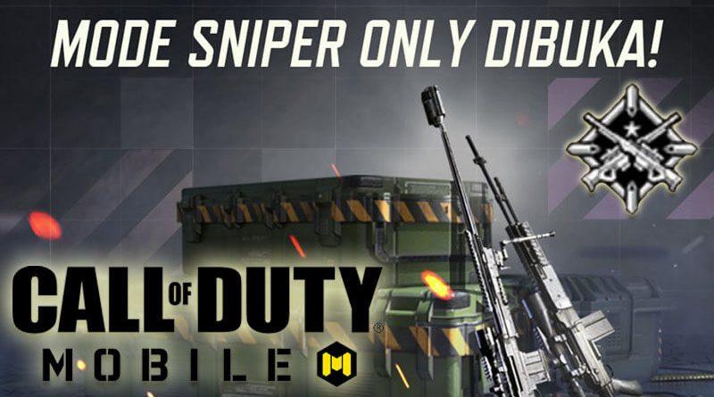 Mode Baru, Ini Dia Tips dan Trik Mode Sniper Only Call of Duty Mobile!