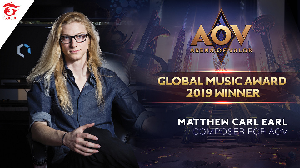 Soundtrack AOV Dapat Penghargaan di Ajang Global Music Awards 2019!