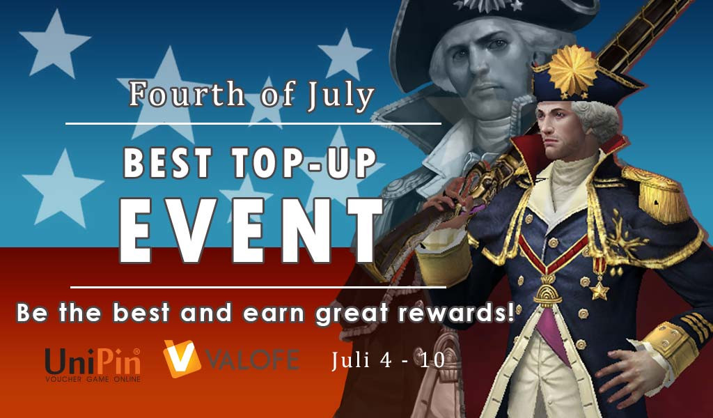 Best Top Up Event - July 2019