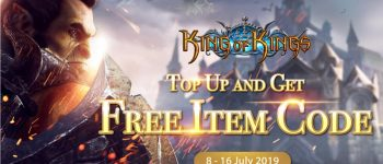 Top up and Get Free Item Code!