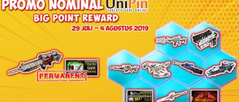 UniPin Cashback 70% + Big Poin Reward
