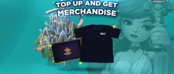 Top Up Lords Mobile and get Official Merchandise