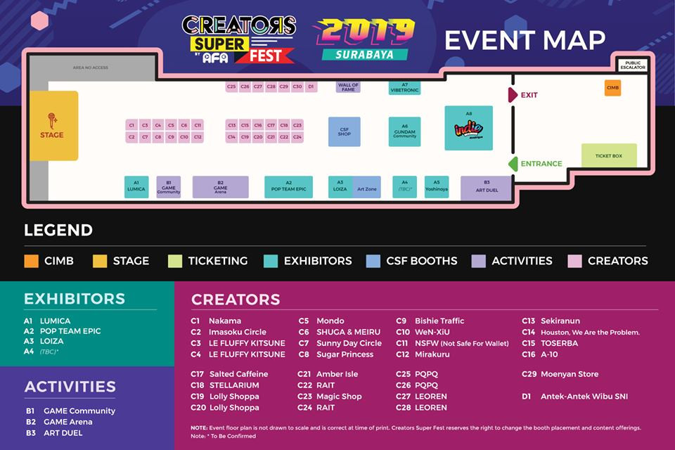CSF19 SBY Event Maps