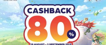 Laplace M - Special Cashback 80% UniPin Credits