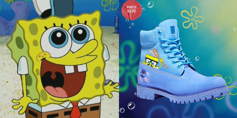 Lucu Parah! Timberland Merilis Koleksi SpongeBob Square Edition