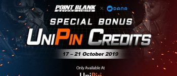 Hanya di UniPin Top up Point Blank dapat triple bonus!