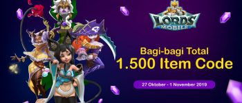 UniPin Bagi-bagi 1.500 Item Code Lords Mobile!