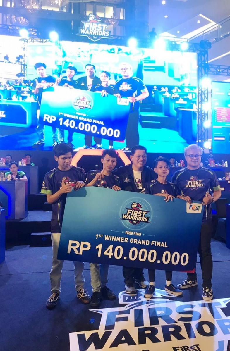 Talenta Baru Merambah Dunia Pro eSports, First Media Gelar Grand Final FIRST WARRIORS Season 1