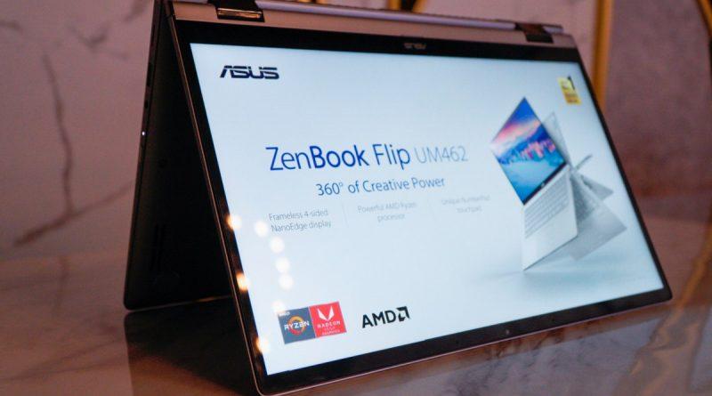 Asus Zenbook Flip UM462 Laptop Canggih Harga Minimalis!