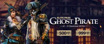 UPGRADE ELITE PASS GHOST PIRATE MULAI DARI 500 DIAMOND!