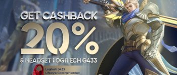 December Weekend Exclusive Promo! Top Up Mobile Legends di UniPin Dapetin Double Bonus Cashback dan Headset Logitech