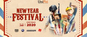 New Year Festival at UniPin, Cashback up to 75%