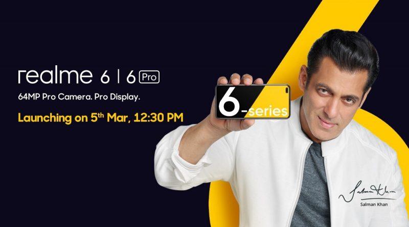 Hadir 5 Maret di India, Ini Dia Bocoran Spesifikasi Realme 6 Series