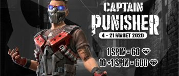Dapatkan Bundle Captain Punisher #PakeUniPin.
