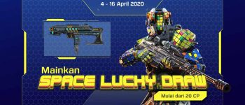 Mainkan Space Lucky Draw mulai dari 20 CP #PakeUniPin