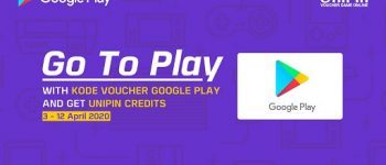 Go To Play, Top Up Kode Voucher Google Play Dapat UniPin Credits total 3 juta!