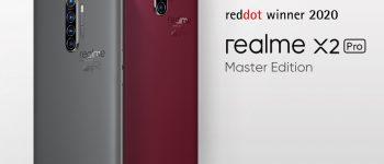 Diakui Secara Global, Realme X2 Pro Master Edition Menangkan Red Dot Design Award