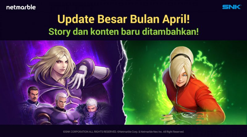 [THE KING OF FIGHTERS ALLSTAR] Netmarble Hadirkan 'Nests Saga' Dari KOF '99 Di Update Terbaru