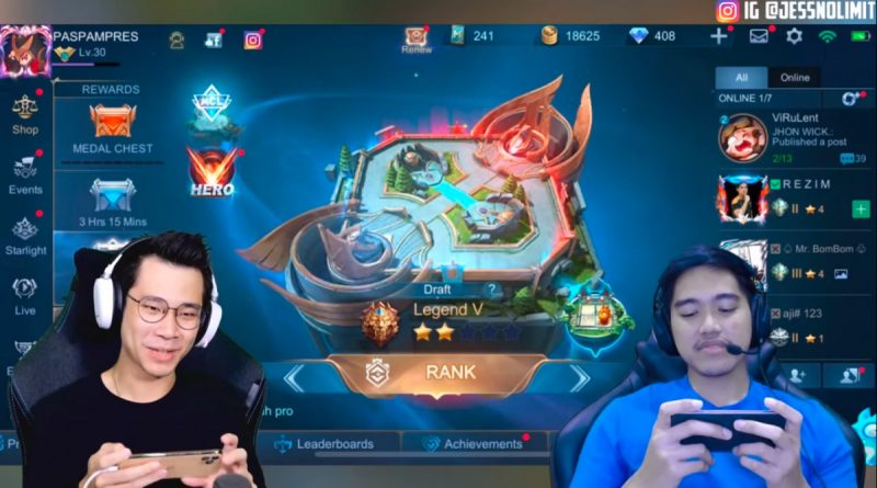 Jess no Limit Main Mobile Legends Bareng Kaesang! Bagaimana Keseruannya?