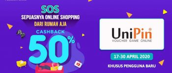 SOS! Top Up #PakeOVO BIsa Dapat Cashback 50%! – April 2020