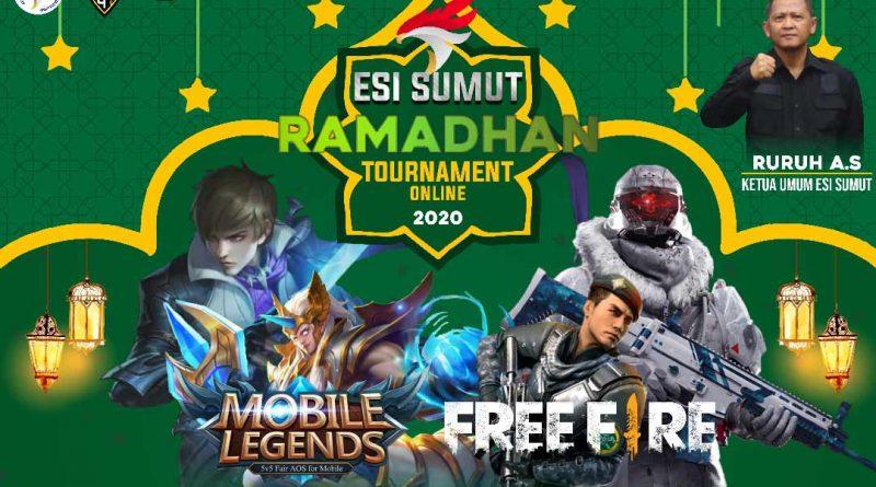 Menyambut Ramadhan, Pengurus Esports Sumut Gelar ESI Ramadhan Online Tournament