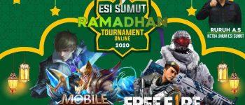 ESI Sumut Ramadhan Online Tournament Week 3: Tiket Terakhir, Memperebutkan Hadiah 100 Juta Rupiah!