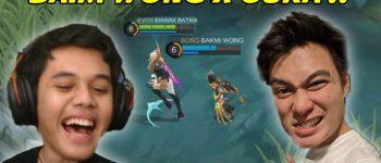 Main Mobile Legends Bareng Oura, Baim Wong Gendong Geng Kapak